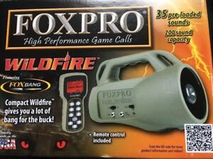 Foxpro wildfire and decoy attachment