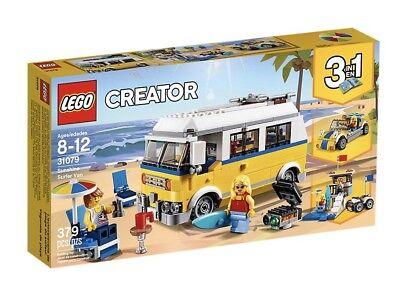 LEGO Creator Surfer VW Van 3-in-1 ~ Summer Sunshine Surf Van Beach BBQ ()