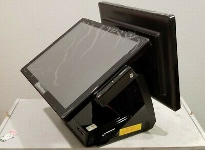 Touch Screen Pos All In One Point Of Sale Business Computersystem Dual Monitor.g