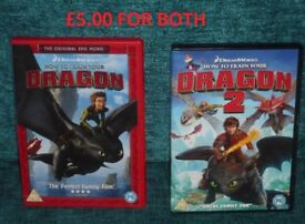 How to Train Your Dragon and How to Train Your Dragon 2 Awesome Films