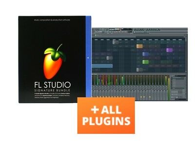 FL STUDIO 20 FRUITY LOOPS SIGNATURE ALL PLUGINS BUNDLE PC LICENSE WINDOWS / MAC