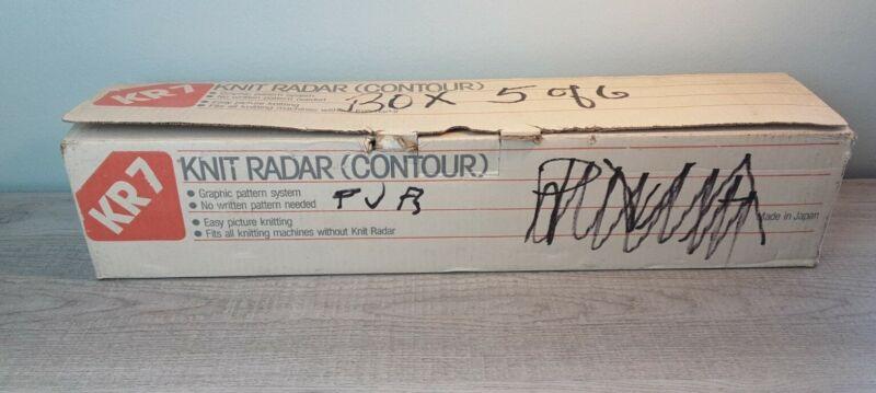 Silver REED Knit Radar (CONTOUR) KR7. MINT NEW??