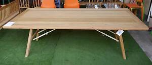 New Cascade Timber Folding Legs Trestle Tables Outdoor Furniture Melbourne CBD Melbourne City Preview