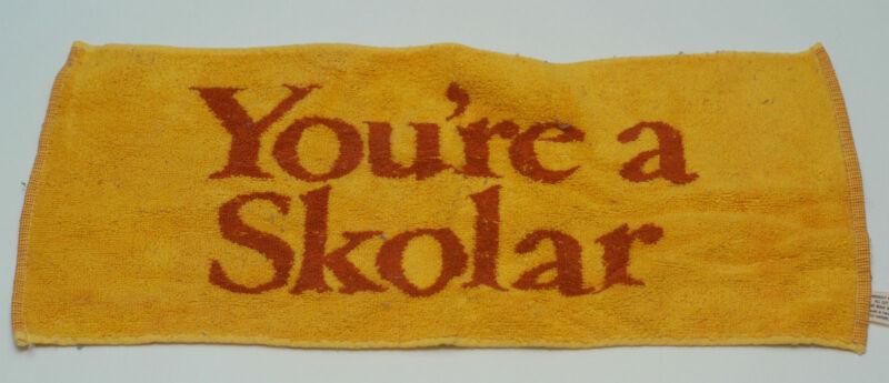 """SKOL Beer Towel """"You"""