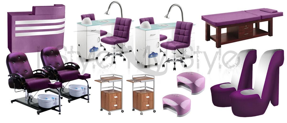 Mobiliario salon de manicura y estetica alquerias for Loquo muebles