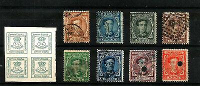 España. Año 1876. Usados Alfonso XII