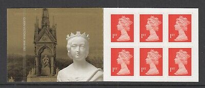 GB GREAT BRITAIN  MH 297a BOOKLET QUEEN VICTORIA  VFNH