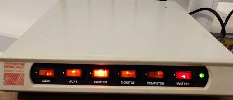 Memorex Power Center Surge Suppressor TVSS1449 Model PC-006-1