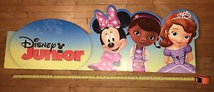 Disney Junior large store display sign