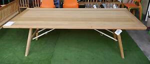 New Cascade Timber Trestle Tables Folding Legs Outdoor Furniture Melbourne CBD Melbourne City Preview