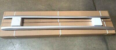 For 16-20 Honda Pilot Roof Rack Side Rails Silver Bars OE Style 2 PCS Pair