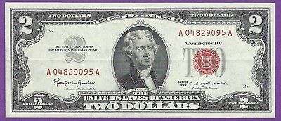 2 00 United States Note   1963   Granahan Dillon   A04829095a