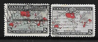CC_________CANADA USED #85, #86  CV $18