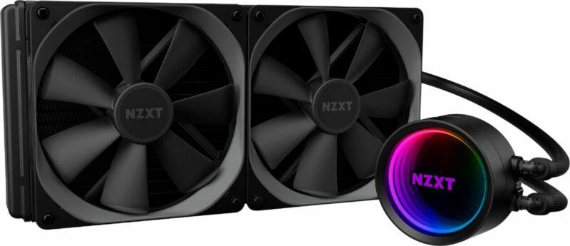 NZXT - Kraken X63 RGB All-in-one 280mm Radiator CPU Liquid Cooling System - B...