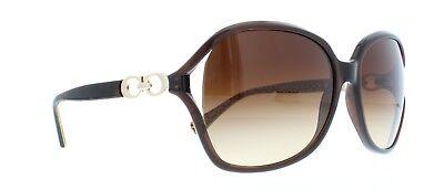 COACH-Sunglasses-HC8018-L006-NATASHA-503513-Brown 60 mm BRAND NEW IN BOX