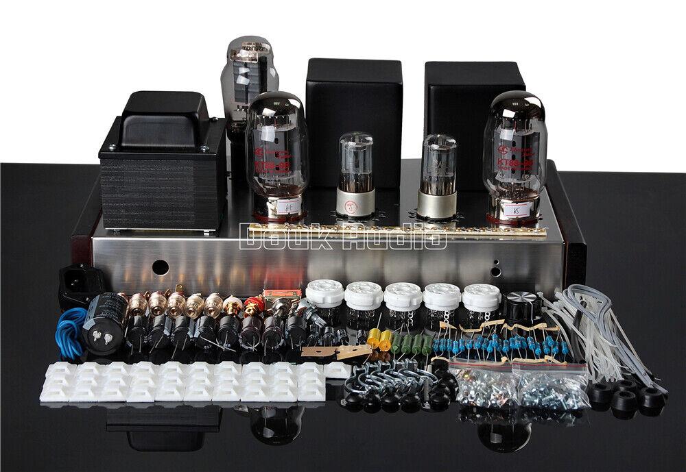 HiFi KT88 Valve Tube Amplifier Stereo Single-Ended Class A ...