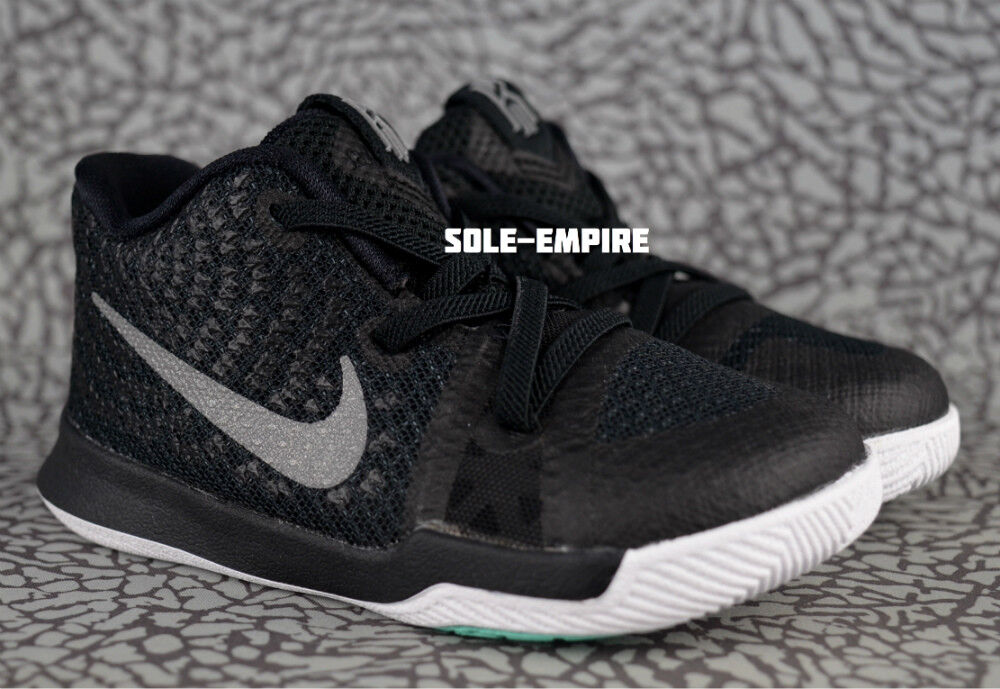 Nike Kyrie 3 TD 869984-018 Toddler Baby Shoes Black Silver White Irving Celtics 1