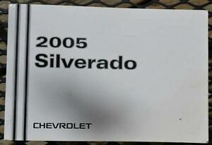 Chevrolet Truck Owner's Manual 2005