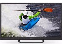 """Nearly New Seiki SE32HD01UK Smart 32"""" HD Ready 720p LED Freeview TV - Black"""