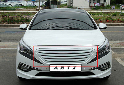 Artx Luxury Radiator Front Hood Grille Colors Fit Hyundai 2017 Sonata Lf