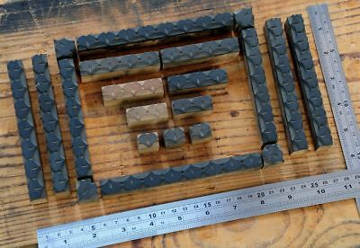Letterpress Border Wooden Printing Blocks Ornaments Art Nouveau Wood Ginkgo Old