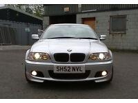 BMW 330 MSport Coupe 30mpg 230+bhp 330ci M Sport