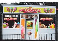 Urgent Shop assistants required for an ice cream shop opening end july 2017