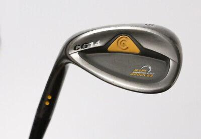 Cleveland Golf CG14 56° Wedge Left Hand Wedge Flex Steel Shaft Zip Grooves - Left Hand Zipper