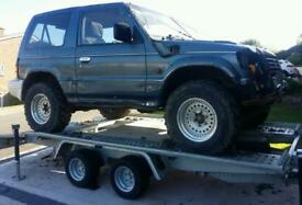 4x4 Off roader, trailer and winch