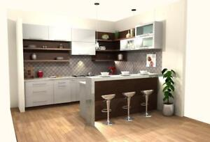 KITCHENS & BATHROOMS VANITY-CASA RENO DIRECT IN VAUGHAN -10x10 cabinets supply only starting from $2,999.00