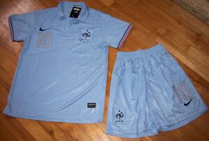 Jersey soccer (Chandail) avec Short FRANCE 2014 - BENZEMA