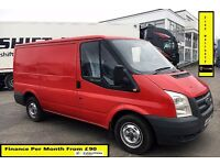 Ford Transit Van 260 85 2.2 Van -1 Owner - FSH -11 Stamps, Full Year MOT, Parking Sensors, NO VAT