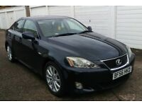 2006 LEXUS IS 250 SE-L AUTO SALOON HISTORY 6 MONTHS WARRANTY PX WELCOME