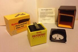 Kodak Polycontrast filter kit
