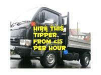 Tipper truck hire - Southampton