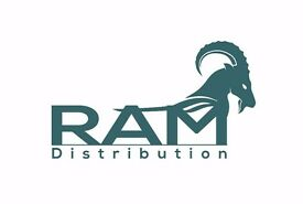 Earn up to £900 a week. RAM Distribution require Delivery Drivers / Multi Drop Drivers