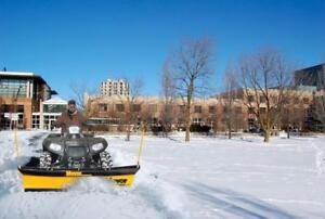Brand New Meyer ATV Snow Plow - Meyer Path Pro Snowplow for ATV's!