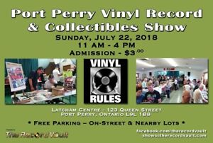 Port Perry Vinyl Record and Collectables Show