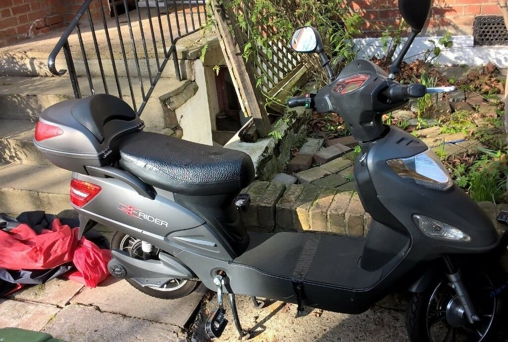 Best Electric Scooter For Commuting >> E Rider Model 15 Electric Bike Moped Pedal Cycle Scooter | in Finsbury Park, London | Gumtree