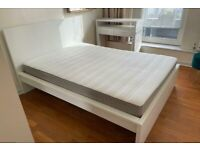 IKEA MALM BED WITH MATTRESS