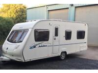 Swift ACE Jubilee Aristocrat Fixed Bed Caravan