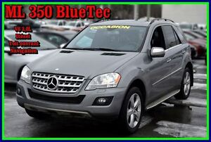 2010 Mercedes-Benz M-Class ML350 BlueTEC 4MATIC
