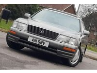 Lexus LS 400 4.0 Saloon 4dr Petrol Automatic ((FSH+LEATHER+SUNROOF+ FULLY LOADED))