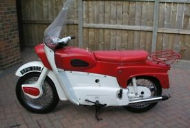 Ariel Leader 250cc twin two stroke 1962 excellent.