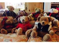 Ready to leave home! Harrod's Christmas Bears