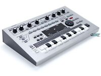 Roland MC 303 similar to jupiter, juno synths, 505 and 808 and 909 drum machines