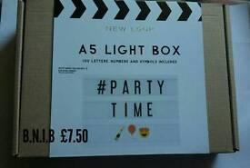 BNIB New Look Light Box