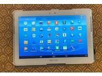 Samsung Galaxy Tablet 2 size 10 16 gb