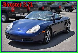 2001 Porsche Boxster 2,7L Convertible