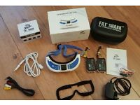 Fatshark Dominator V3 FPV Goggles with extra battery